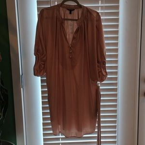 Banana Republic petite shirt dress